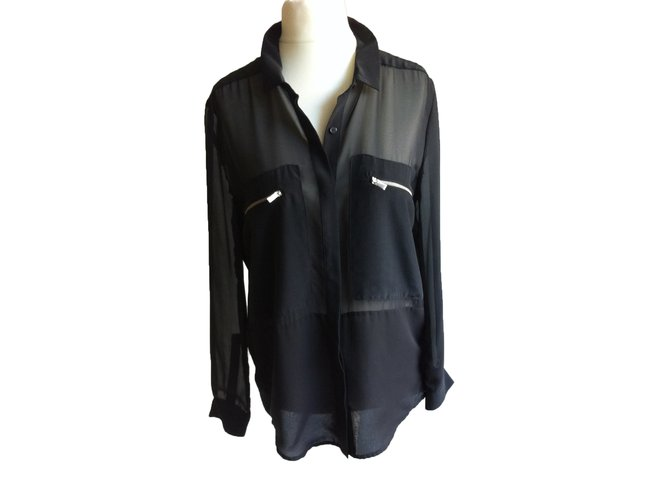 a587f4f5c3 The Kooples Sport Top Tops Other Black ref.27284 - Joli Closet