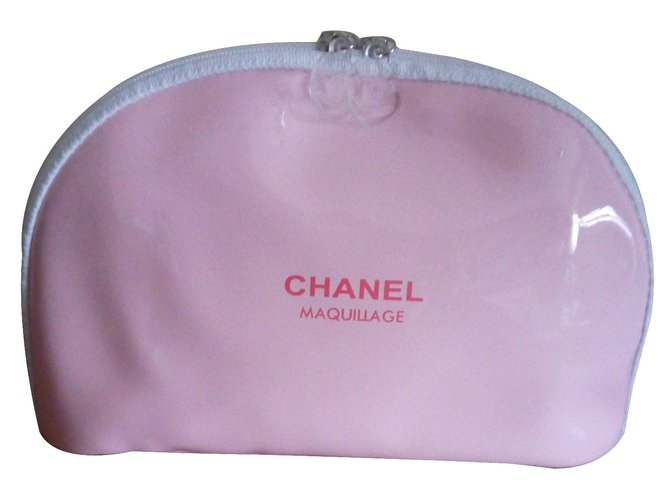8c0e7fbd2327 Chanel Makeup Bag Vip Gifts Plastic Pink Ref 27408