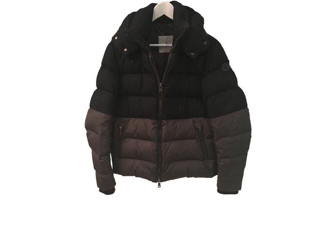 Moncler Jacket Blazers Jackets Wool Khaki ref.27489