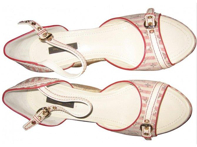 998f6466606f Louis Vuitton Sandals croisière collection Sandals Leather