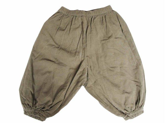 Pantalons fille Bonton PANTALON Coton Kaki ref.27581