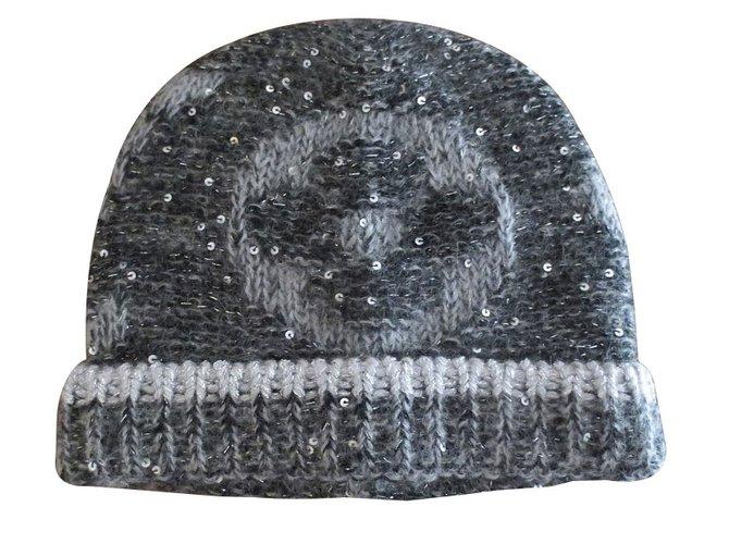 Louis Vuitton Hat Hats Wool Black ref.27879 - Joli Closet 7846f9665ad