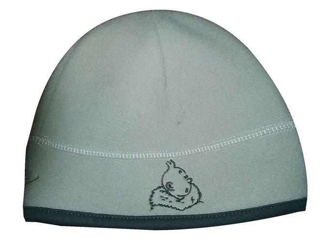 Chapeaux, bonnets, gants Autre Marque Bonnet polaire TINTIN Polyester Beige ref.28000