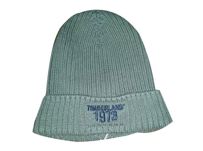 Chapeaux, bonnets, gants Timberland Bonnet Coton Kaki ref.28004