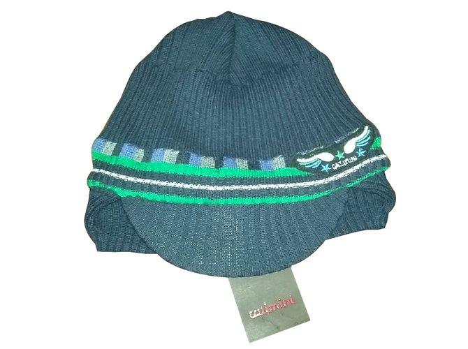 Chapeaux, bonnets, gants Catimini Bonnet Laine Bleu ref.28006