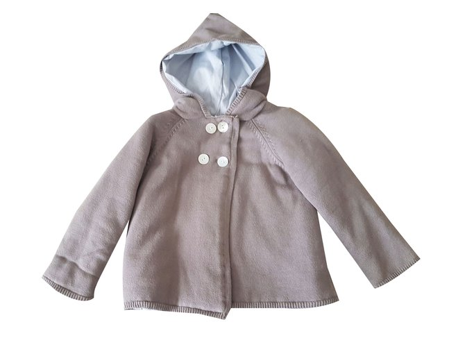 Tartine et Chocolat Coat Boy Coats Outerwear Cotton Beige ref.28176