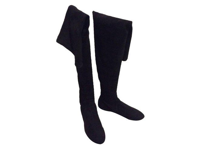 353c9682e17 Isabel Marant Etoile Brenna Boots Suede Black ref.28219 - Joli Closet