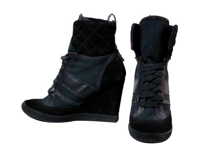 Chloé Sneakers Sneakers Leather Black ref.28224