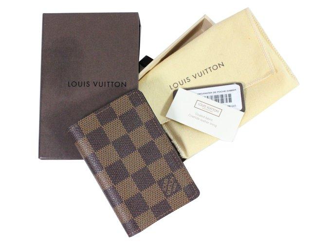 Portefeuilles Louis Vuitton Porte carte damier Autre Autre ref.28481 ... a010ffc1ded