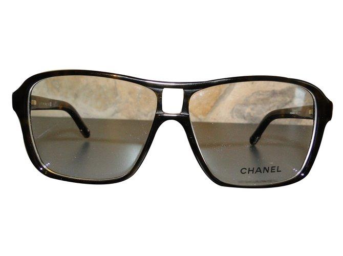 Chanel Sunglasses Sunglasses Plastic Brown ref.28531 - Joli Closet