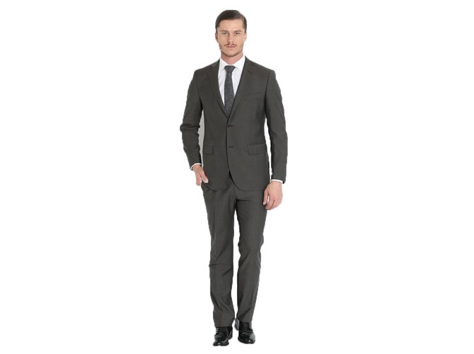 796f32982de Autre Marque HILTON BNWT MEN'S SLIM FIT DARK GREY SUIT SLIM FIT Suits Wool Dark  grey