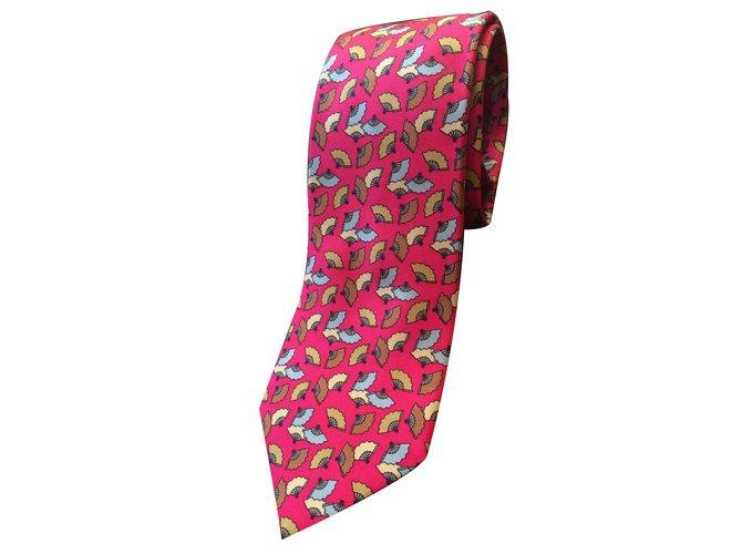 10f6590b9f7e Hermès Tie Ties Silk Multiple colors ref.28768 - Joli Closet