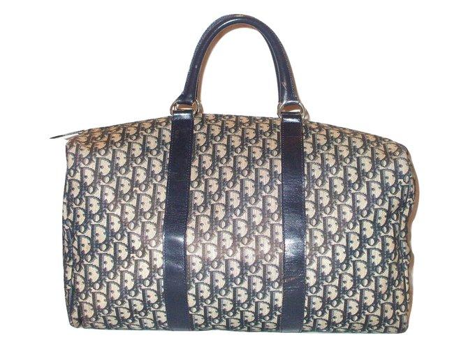 hot sale online speical offer release info on CHRISTIAN DIOR vintage sac de voyage