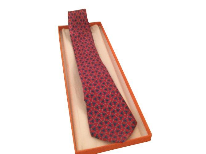 476cd8e887a Cravates Hermès Cravates Soie Multicolore ref.29248 - Joli Closet