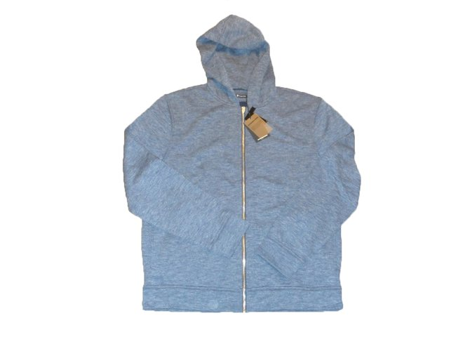 d5c888f39e T By Alexander Wang Sweater Sweaters Cotton Blue ref.29599 - Joli Closet