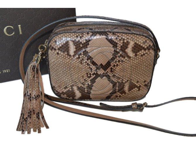 2bdefe072638 Sacs à main Gucci SOHO Cuirs exotiques Autre ref.29840 - Joli Closet