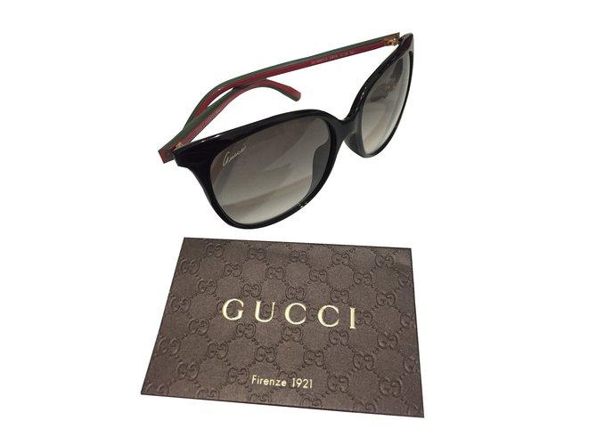 5179e22c27 Gucci Sunglasses Sunglasses Plastic Black ref.30051 - Joli Closet