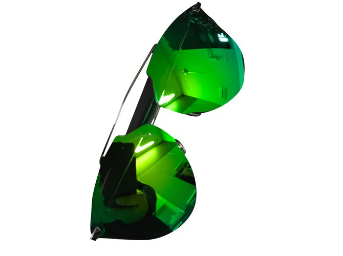 11b83dae3ea4 Dior Dior reflected Sunglasses Metal Green ref.30145 - Joli Closet