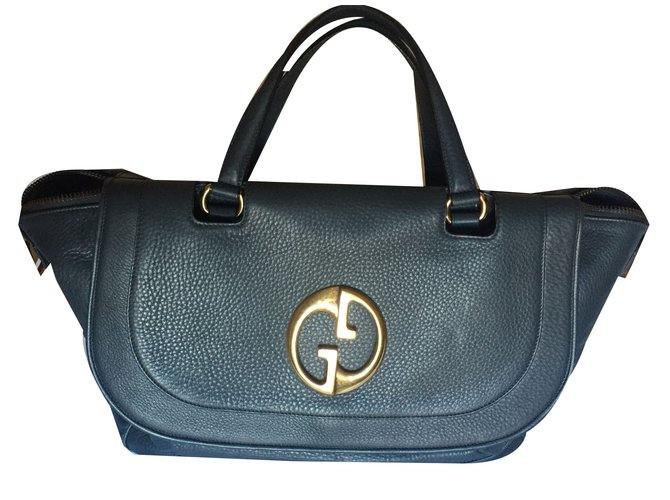 f82d3be84e47 Gucci 1973 bag - 2010/2011 Collection Handbags Leather Other ref.30198