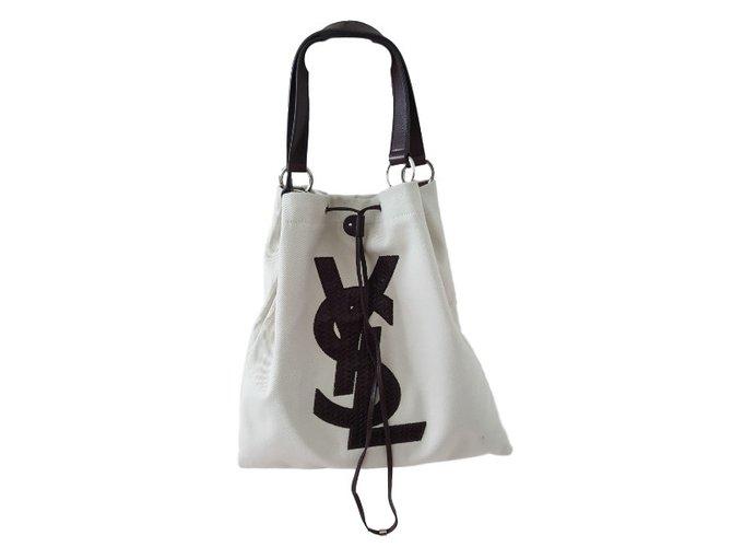 7e33e8a18d0 Yves Saint Laurent Handbag Handbags Cloth Other ref.30557 - Joli Closet
