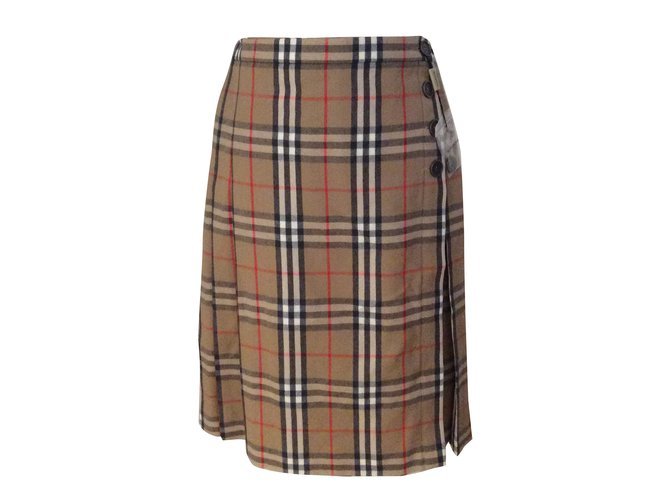 Burberry Skirt Skirts Wool Other ref.30565