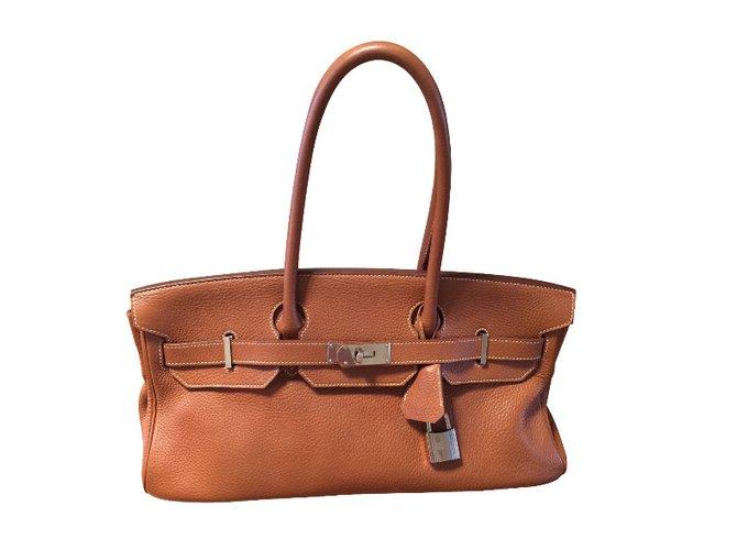 Hermès Handbags Handbags Leather Other ref.30694 8f2271a78fe