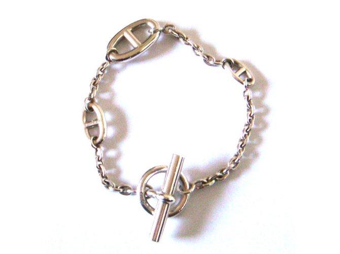 Bracelets Hermès Farandole Argent Argenté ref.30883