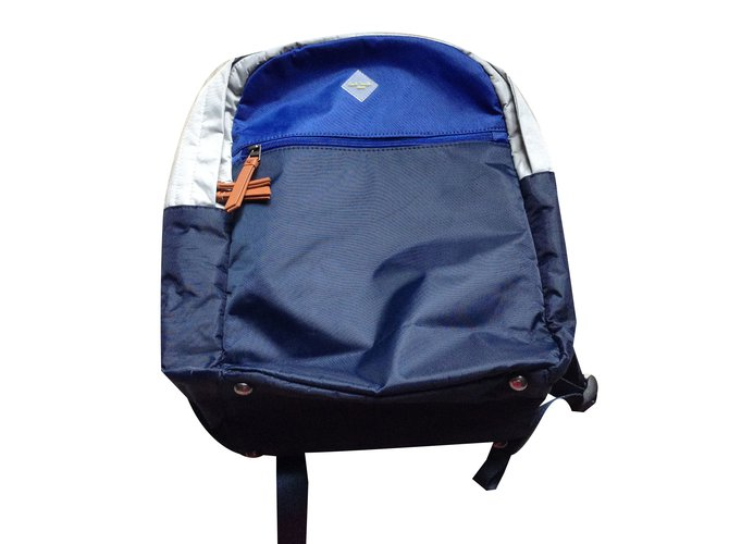 Sacs, trousses Paul Smith Paul Smith junior Polyamide Bleu ref.31190