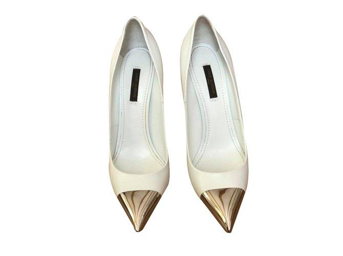 Louis Vuitton Heels Heels Leather White