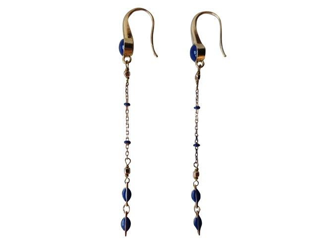 0b121f12f5 Isabel Marant Earrings Earrings Metal Blue ref.31673 - Joli Closet