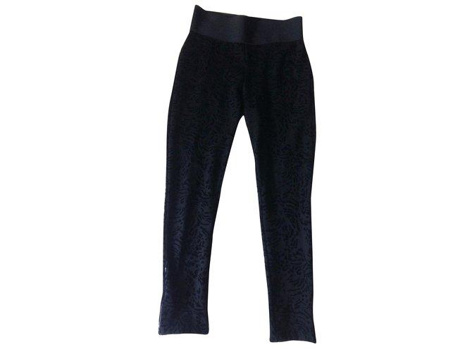 Viscose Pants Zara Joli Closet Black Ref 31720 Leggings A86qE