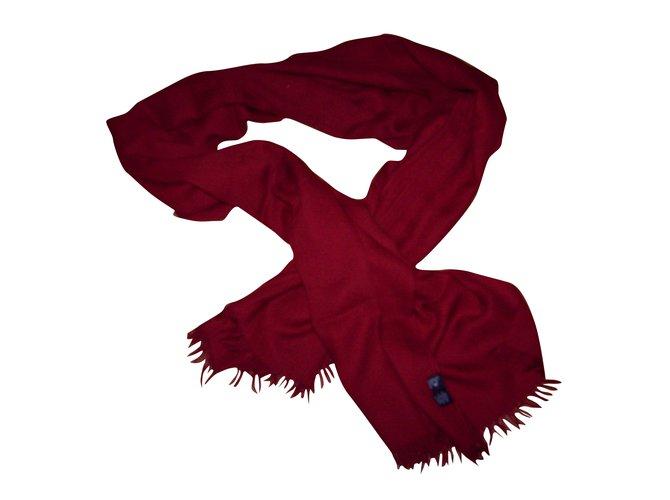Hermès Etole Pashmina Cachemire Rouge  ref.31759