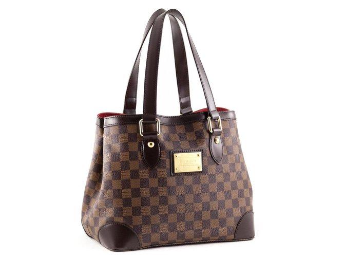 455a6bcbe78cec Sacs à main Louis Vuitton hampstead pm Cuir Marron ref.32373 - Joli ...