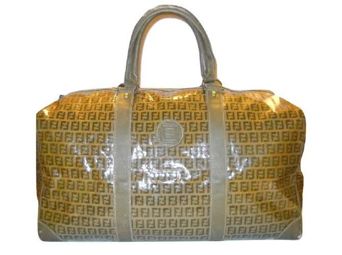 6bdd25892add Fendi Fendi Vintage travel bag Bags Briefcases Leather