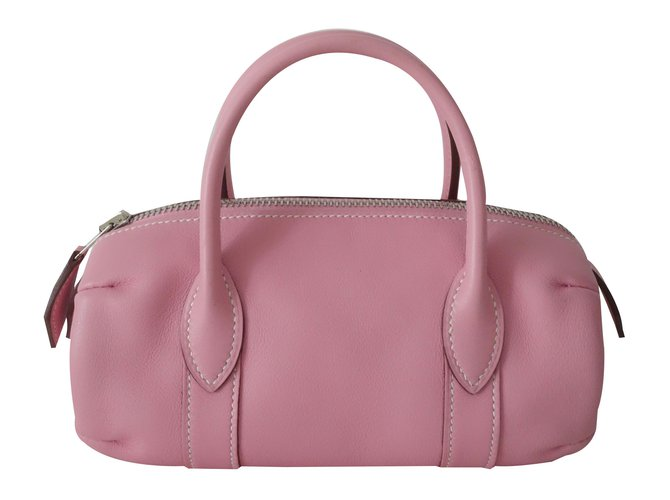 Hermès Hermes bag - small Purses, wallets, cases Leather Pink ref.32602 116ecb0712