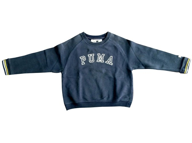 Puma Sweaters Sweaters Cotton Blue ref.32604