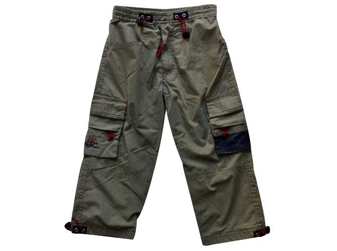 """Pantalons garçon Autre Marque """" AMERICAN STREET CULTURE"""" Autre Kaki ref.32915"""