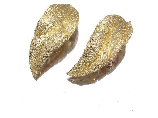 Boucles d'oreilles Van Cleef & Arpels Boucles d'oreilles Or jaune Doré ref.33042
