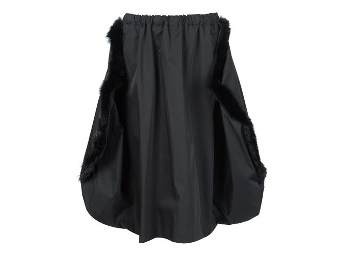 Comme Des Garcons Skirt Skirts Acrylic Black ref.33238