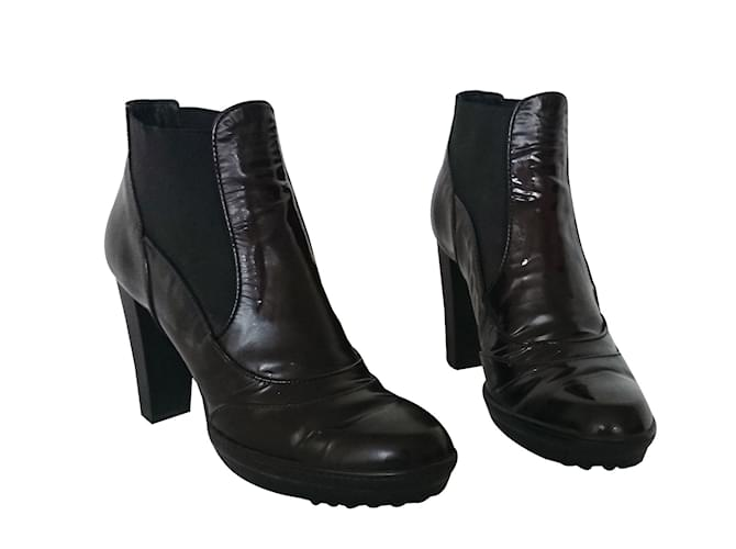 Tod's Ankle Boots Ankle Boots Patent