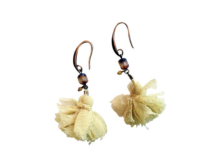2b540bff5a Isabel Marant Earrings Earrings Metal Yellow ref.33273 - Joli Closet