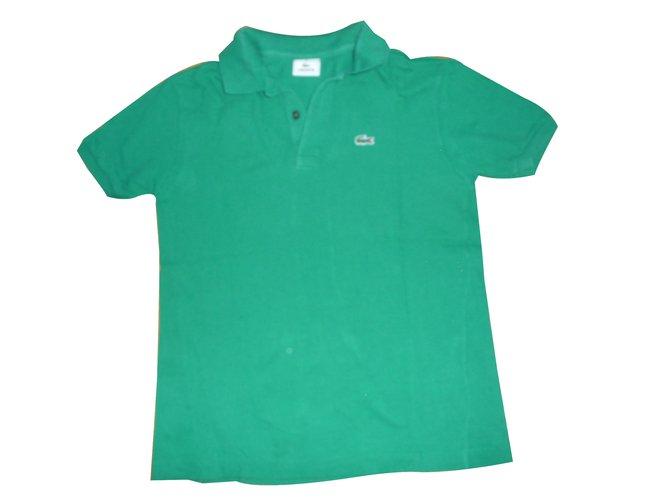 a8e35f5de91 Lacoste Polo Tops Tees Cotton Green ref.33303 - Joli Closet