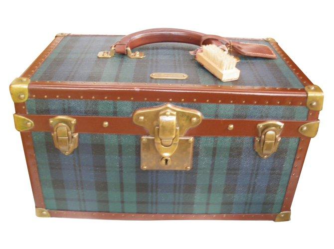 a213de0395 Ralph Lauren Vanity vintage Travel bag Cloth Multiple colors ref.34055
