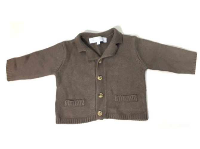 Tartine et Chocolat cardigan Sweaters Other,Cotton,Wool,Viscose,Polyamide Light brown ref.34443
