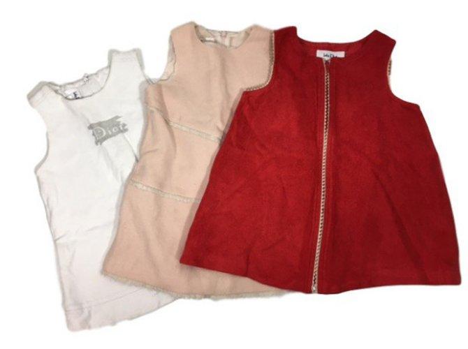 Robes fille Baby Dior lot de 3 robes Autre Autre ref.34456