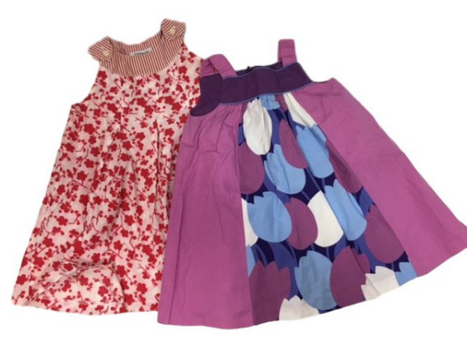 Cacharel Set of 2 dresses Cotton  ref.34457