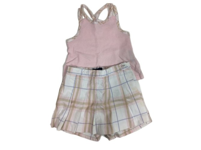 Burberry Set Outfits Cotton Pink,Other ref.34459