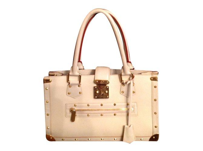 187f7871be58 Sacs à main Louis Vuitton Le fabuleux Cuir Blanc