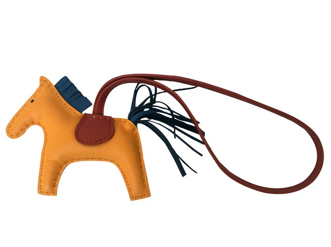 Hermès Hermes Rodeo Horse Charm Brand new Color for 2017 Bag charms Leather  Yellow ref. c311e5d016