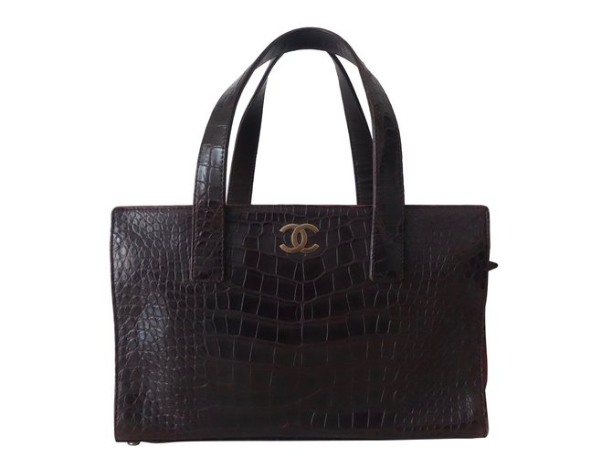 ced393de7e73 Chanel SHOPPING ALLIGATOR Handbags Exotic leather Multiple colors ref.34685